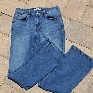 Levi's boot cut 515 high rise 5 pocket jeans